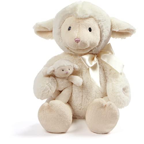"""ガンド ぬいぐるみ リアル お世話 かわいい Baby GUND Animated Talking Nursey Time Lamb with 5 Nursery Rhymes, 10""""ガンド ぬいぐるみ リアル お世話 かわいい"""