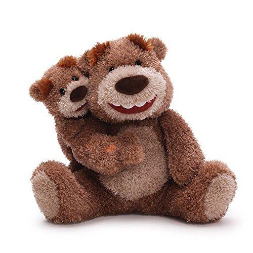 ガンド ぬいぐるみ リアル お世話 かわいい 【送料無料】Gund Like Father Like Son Animated Plush Bear, 10-Inchガンド ぬいぐるみ リアル お世話 かわいい
