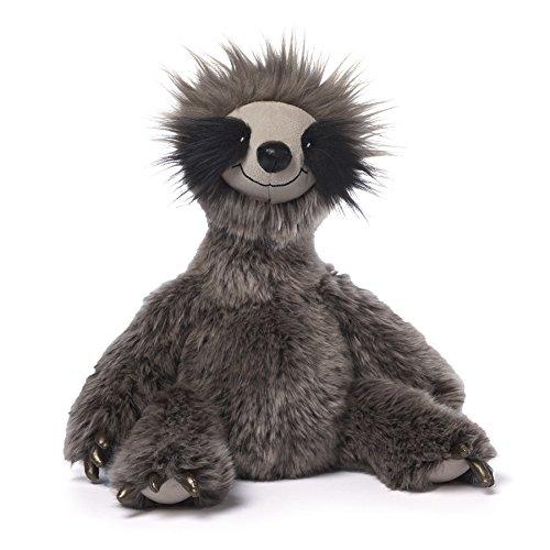 ガンド ぬいぐるみ リアル お世話 かわいい 【送料無料】GUND Roswel Sloth Stuffed Animal Plush Dark Gray, 15