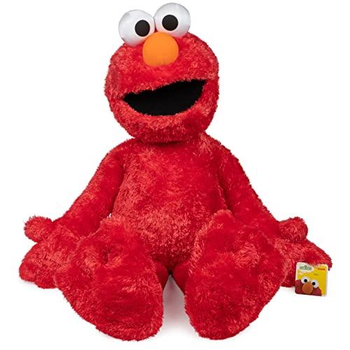 ガンド ぬいぐるみ リアル お世話 かわいい 【送料無料】Gund Sesame Street Jumbo Elmo Stuffed Animal, 41 inchesガンド ぬいぐるみ リアル お世話 かわいい