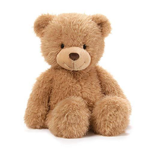 ガンド ぬいぐるみ リアル お世話 かわいい GUND Ginger Teddy Bear Stuffed Animal Plush, Beige, 15