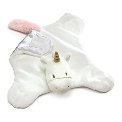 """ガンド ぬいぐるみ リアル お世話 かわいい Baby GUND Luna Unicorn Comfy Cozy Stuffed Animal Plush Blanket, 24""""ガンド ぬいぐるみ リアル お世話 かわいい"""