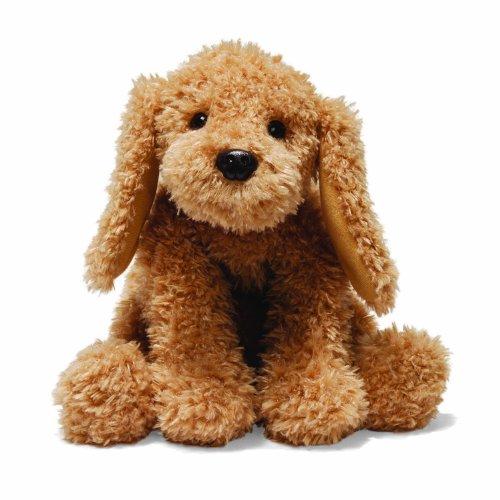 ガンド ぬいぐるみ リアル お世話 かわいい 【送料無料】GUND Puddles Dog Stuffed Animal Plush, Brown, 10