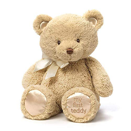 ガンド ぬいぐるみ リアル お世話 かわいい Baby GUND My 1st Teddy Bear Stuffed Animal Plush, Tan 15