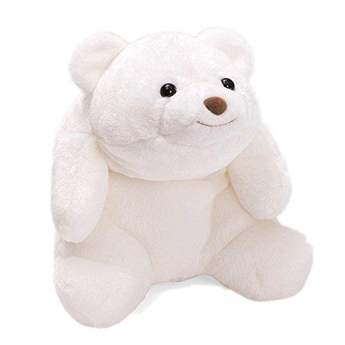 ガンド ぬいぐるみ リアル お世話 かわいい GUND Snuffles Teddy Bear Stuffed Animal Plush, 白い, 10