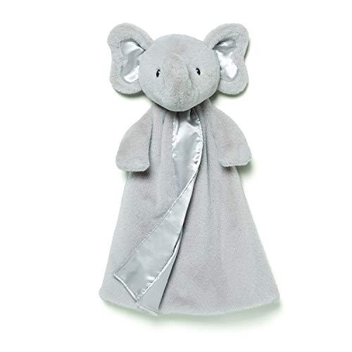 ガンド ぬいぐるみ リアル お世話 かわいい 【送料無料】Baby GUND Bubbles Elephant Huggybuddy Stuffed Animal Plush Blanket, Gray, 17
