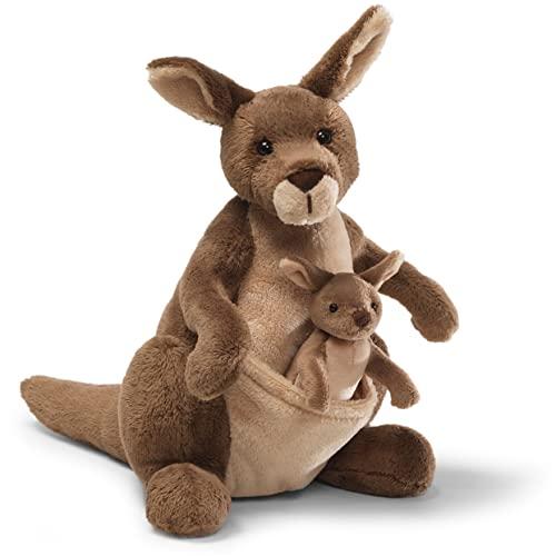 ガンド ぬいぐるみ リアル お世話 かわいい 【送料無料】GUND Jirra Kangaroo Stuffed Animal Plush, 10