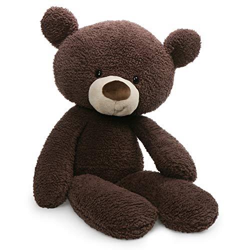 ガンド ぬいぐるみ リアル お世話 かわいい 【送料無料】GUND Fuzzy Teddy Bear Stuffed Animal Plush, Chocolate Brown, 24