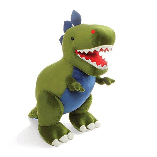 """ガンド ぬいぐるみ リアル お世話 かわいい GUND Jumbo Chomper Dinosaur T-Rex Stuffed Animal Plush, Green, 25""""ガンド ぬいぐるみ リアル お世話 かわいい"""