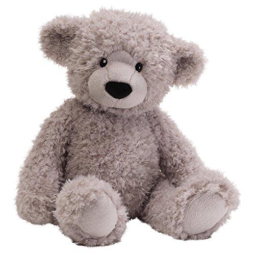 ガンド ぬいぐるみ リアル お世話 かわいい 【送料無料】GUND Dijon Grey Teddy Bear 17 inch Plush Furry Stuffed Animalガンド ぬいぐるみ リアル お世話 かわいい