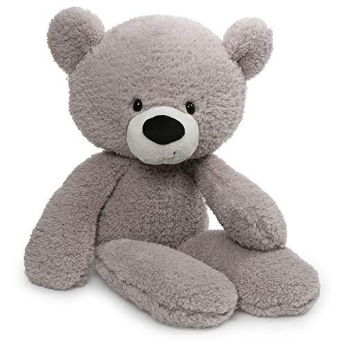 ガンド ぬいぐるみ リアル お世話 かわいい 【送料無料】GUND Fuzzy Teddy Bear Stuffed Animal Plush, Grey, 24