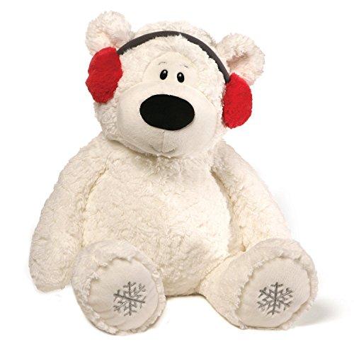 ガンド ぬいぐるみ リアル お世話 かわいい 【送料無料】GUND Blizzard Teddy Bear Holiday Stuffed Animal Plush, White, 24