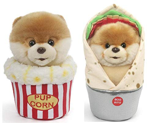 ガンド ぬいぐるみ リアル お世話 かわいい 【送料無料】GUND Boo Snacktime Plush Bundle of 2, 9 inch Boo-Rito and Boo Popcornガンド ぬいぐるみ リアル お世話 かわいい