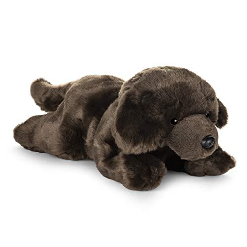 ガンド ぬいぐるみ リアル お世話 かわいい 【送料無料】GUND Chocolate Labrador Dog Stuffed Animal Medium 14 inch Plush Toyガンド ぬいぐるみ リアル お世話 かわいい