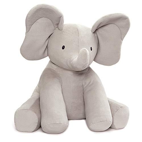 ガンド ぬいぐるみ リアル お世話 かわいい GUND Baby Jumbo Flappy Plush Stuffed Elephant, 24