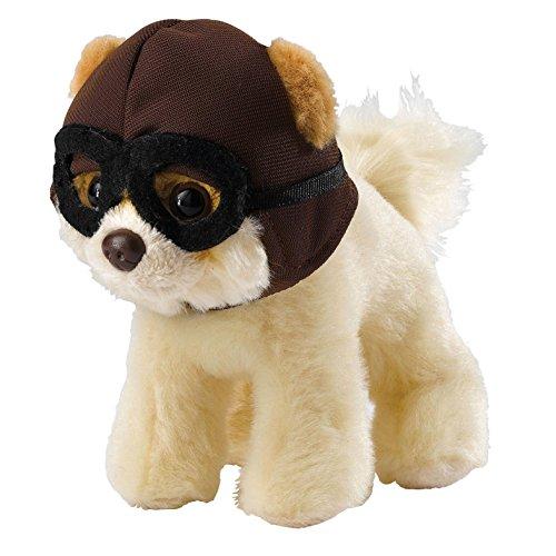 ガンド ぬいぐるみ リアル お世話 かわいい 【送料無料】GUND Boo Worlds Cutest Dog 4049361 Itty Bitty Boo With Pilot Hat & Gogglesガンド ぬいぐるみ リアル お世話 かわいい