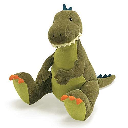 ガンド ぬいぐるみ リアル お世話 かわいい 【送料無料】GUND Tristen T-Rex Dinosaur Stuffed Animal Plush, Green, 13