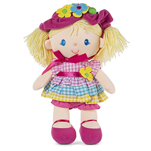 ガンド ぬいぐるみ リアル お世話 かわいい 【送料無料】GUND April Springtime Dolly 13 Inch Plush Doll with Removable Bonnet and Dressガンド ぬいぐるみ リアル お世話 かわいい