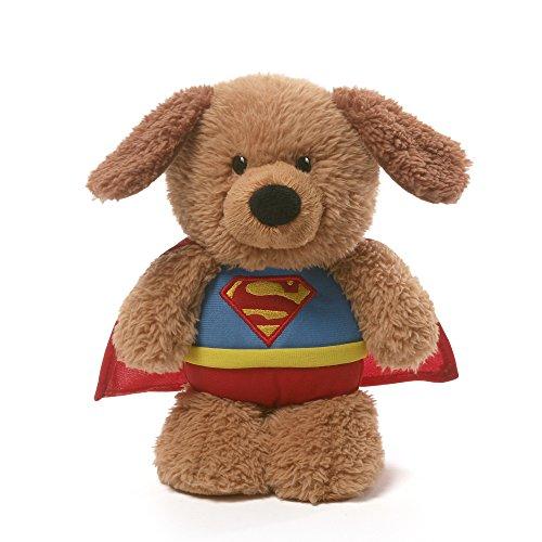 ガンド ぬいぐるみ リアル お世話 かわいい 【送料無料】GUND DC Comics Superman Griffin Nightlight Stuffed Animal Plush, 8