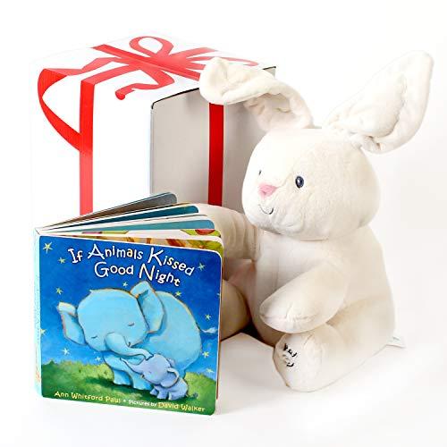 ガンド ぬいぐるみ リアル お世話 かわいい 【送料無料】Baby GUND Flora The Bunny Animated Plush Stuffed Animal Toy, Cream, 12