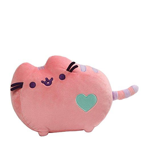 ガンド ぬいぐるみ リアル お世話 かわいい 【送料無料】GUND Pusheen Heart Pastel Cat Plush Stuffed Animal, Pink, 12