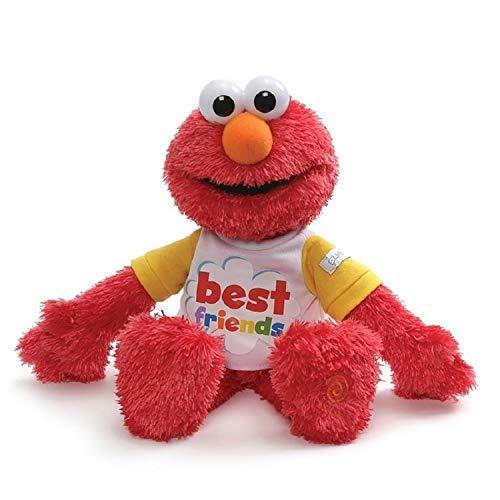 ガンド ぬいぐるみ リアル お世話 かわいい 【送料無料】GUND Sesame Street Best Friend Talking Elmo, 8.5