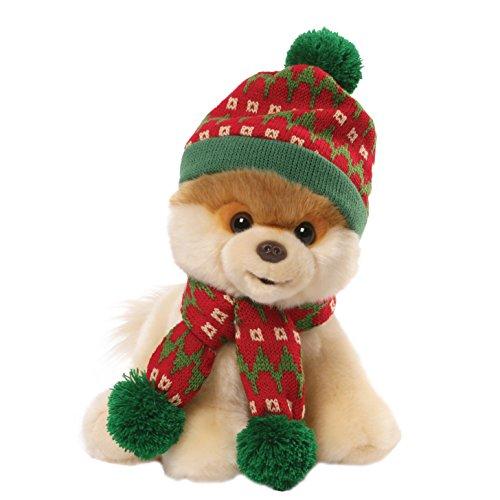 ガンド ぬいぐるみ リアル お世話 かわいい 【送料無料】GUND Boo Holiday Hat and Scarf 9 in Plushガンド ぬいぐるみ リアル お世話 かわいい