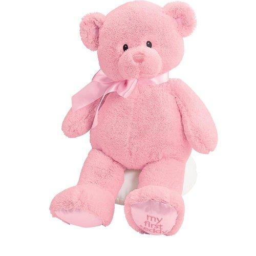 ガンド ぬいぐるみ リアル お世話 かわいい 【送料無料】Gund Baby My First Teddy-Large-Pinkガンド ぬいぐるみ リアル お世話 かわいい