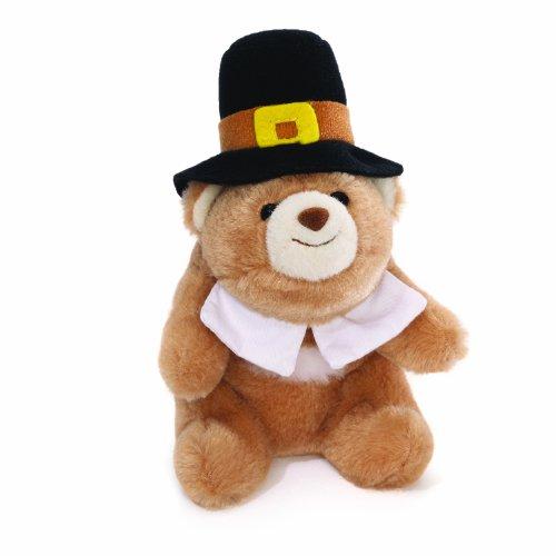 ガンド ぬいぐるみ リアル お世話 かわいい 【送料無料】Gund Lil' Snuffles Pilgrim Bear 5