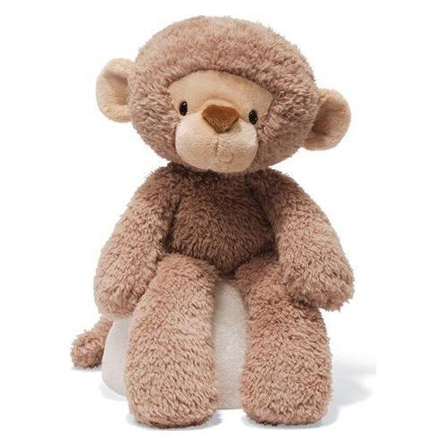 ガンド ぬいぐるみ リアル お世話 かわいい 【送料無料】GUND Fuzzy Monkey Plush 320599ガンド ぬいぐるみ リアル お世話 かわいい