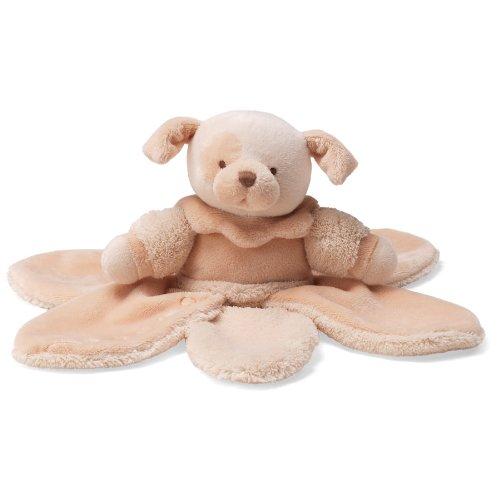 ガンド ぬいぐるみ リアル お世話 かわいい 【送料無料】GUND Baby La Collection Bebe Puppy Dog Petal Stuffed Animal Plush Blanket, Cream, 9