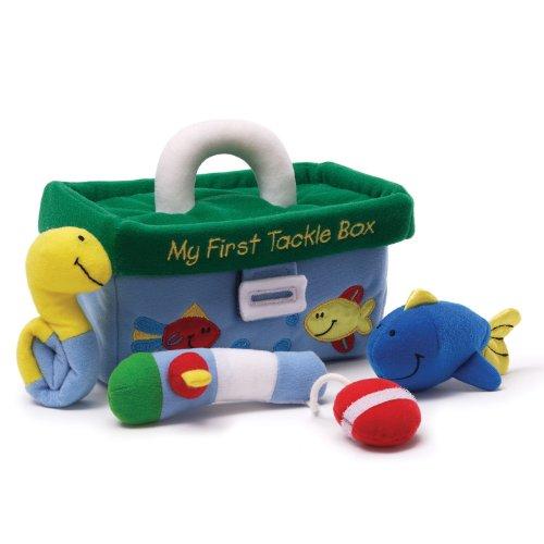 ガンド ぬいぐるみ リアル お世話 かわいい 【送料無料】GUND Playset My First Tackle Box 7.5