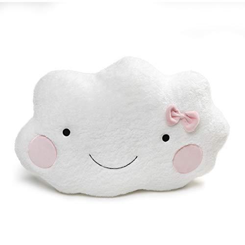 ガンド ぬいぐるみ リアル お世話 かわいい 【送料無料】GUND Cloud Pillow Stuffed Animal Plush, White and Pink, 20