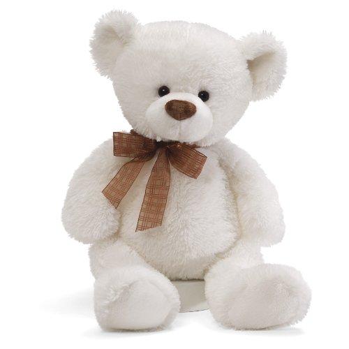 ガンド ぬいぐるみ リアル お世話 かわいい 【送料無料】Gund Frosting White Bear 14