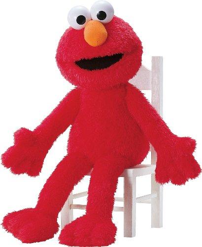 ガンド ぬいぐるみ リアル お世話 かわいい 【送料無料】Big Sesame Street Elmo 25