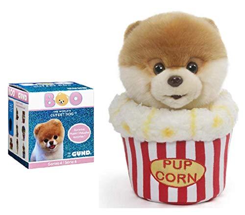 ガンド ぬいぐるみ リアル お世話 かわいい 【送料無料】GUND Boo Snacktime Bundle of 2, 9 Inch Boo Popcorn Plush and Blind Box Series 4ガンド ぬいぐるみ リアル お世話 かわいい