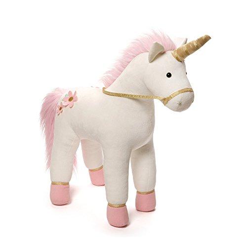 ガンド ぬいぐるみ リアル お世話 かわいい 【送料無料】GUND Lilyrose Unicorn Jumbo Stuffed Animal Plush, 23