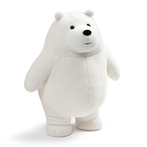 ガンド ぬいぐるみ リアル お世話 かわいい 【送料無料】GUND We Bare Bears Standing Ice Plush Stuffed Bear, White, 11