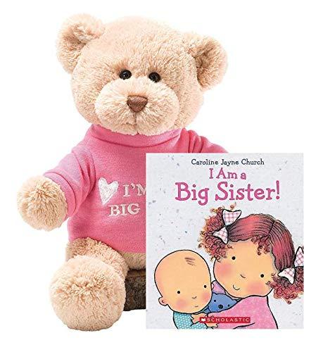 """ガンド ぬいぐるみ リアル お世話 かわいい GUND T-Shirt Teddy Bear Stuffed Animal Plush 12"""" (Big Sister Gift Set)ガンド ぬいぐるみ リアル お世話 かわいい"""
