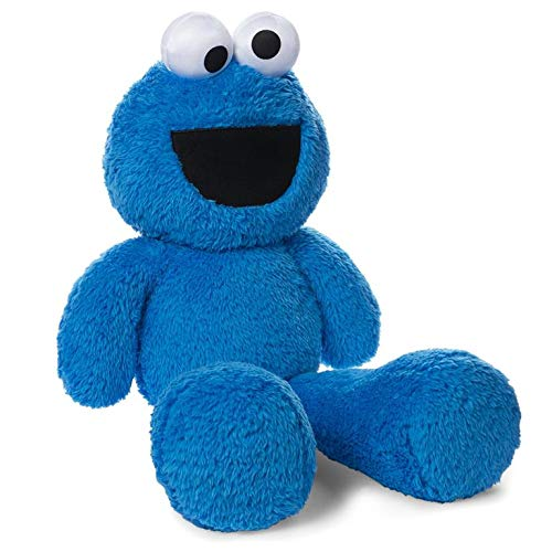 ガンド ぬいぐるみ リアル お世話 かわいい 【送料無料】GUND Fuzzy Buddy Cookie Monster Plush, 27