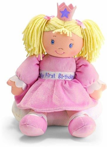 ガンド ぬいぐるみ リアル お世話 かわいい 【送料無料】Gund Baby My First Birthday Doll with sound (Discontinued by Manufacturer)ガンド ぬいぐるみ リアル お世話 かわいい