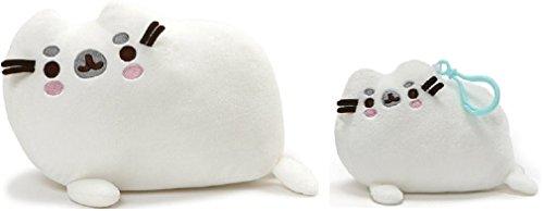 ガンド ぬいぐるみ リアル お世話 かわいい 【送料無料】GUND Pusheenimal Seal Plush and Backpack Clip Bundle Set of 2ガンド ぬいぐるみ リアル お世話 かわいい