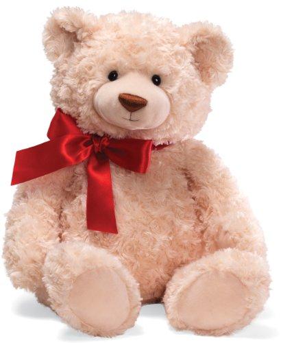 ガンド ぬいぐるみ リアル お世話 かわいい 【送料無料】Gund Christmas Brody with Red Ribbon 20