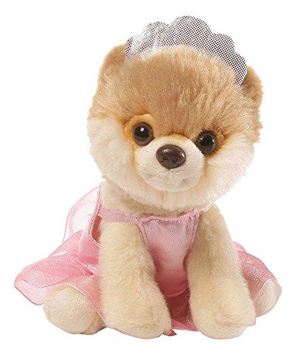 ガンド ぬいぐるみ リアル お世話 かわいい GUND Itty Bitty Boo Ballerina Dog Stuffed Animal Plush, 5