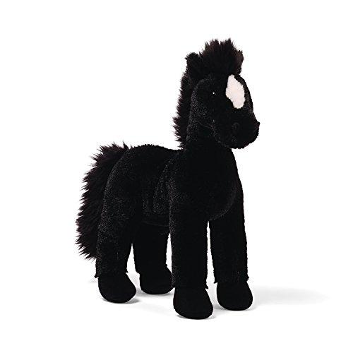 ガンド ぬいぐるみ リアル お世話 かわいい 【送料無料】GUND Sunny Black Standing Horse 11.5