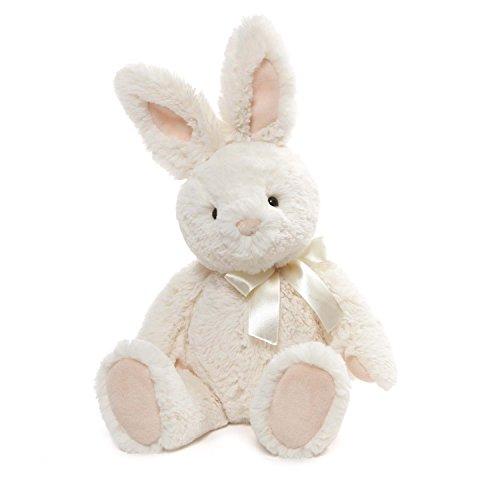 ガンド ぬいぐるみ リアル お世話 かわいい 【送料無料】GUND Velvet Stuffed Animal Bunny Rabbit Plush, White, 13