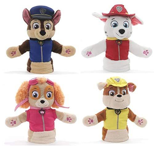 ガンド ぬいぐるみ リアル お世話 かわいい 【送料無料】GUND Paw Patrol Puppet Plush Bundle of 4, 11