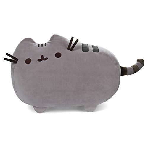 ガンド ぬいぐるみ リアル お世話 かわいい 【送料無料】GUND Pusheen Squisheen Squishy Stuffed Animal Cat Plush, Gray, 20