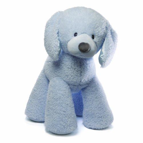 ガンド ぬいぐるみ リアル お世話 かわいい 【送料無料】Gund Baby Fluffy Plush Toy, Blue Puppy, 24