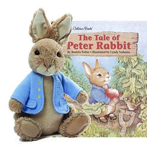 ガンド ぬいぐるみ リアル お世話 かわいい GUND Classic Beatrix Potter Peter Rabbit Stuffed Animal Plush Collection (6.5